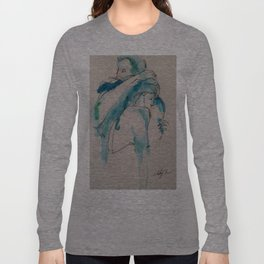 Twig and Ink Series #73 Long Sleeve T-shirt