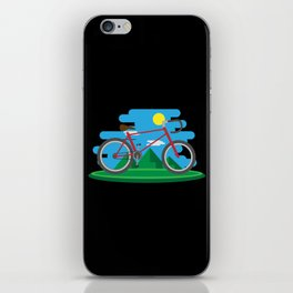 Cycling Forever | Bicycle Enthusiast iPhone Skin