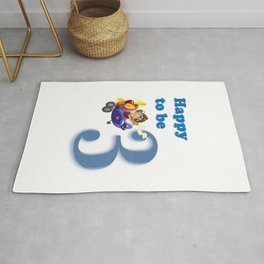 Birthday Designs Rug