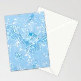 A Mild Breeze (Baby Blue) Stationery Cards