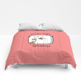 MY DIET STARS TOMORROW Comforters