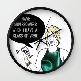 Superpowers Wall Clock