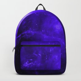 Crab Nebula Ultraviolet Backpack