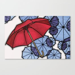 There's Always A Silver Lining Canvas Print