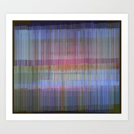 Abstract Composition 582 Art Print