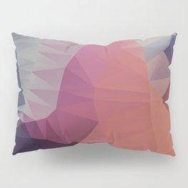 Flower / Poster, scandinavian, art, art print, geometric, pastel, friends, love, summer, Christmas Pillow Sham