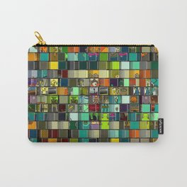Alien Mosaic № 001 Carry-All Pouch