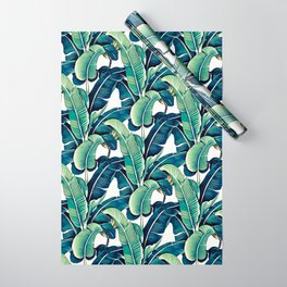 Banana leaves Wrapping Paper