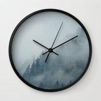 the neighbourhood Wall Clocks featuring COOL MORNING by Teresa Chipperfield Studios