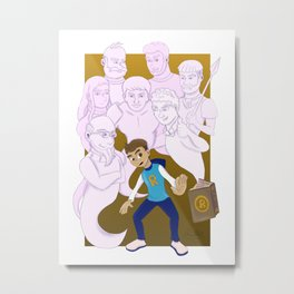 Rubin The 10th Metal Print