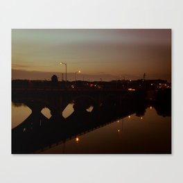 Lamar Boulevard Bridge, No. 2 Canvas Print