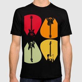 Guitar Music Band Guitarist Gift Idea T-shirt