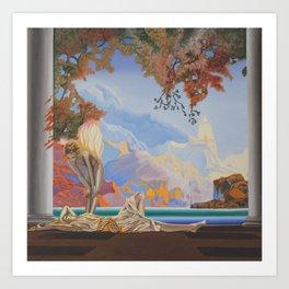 After Maxfield Parrish Art Print