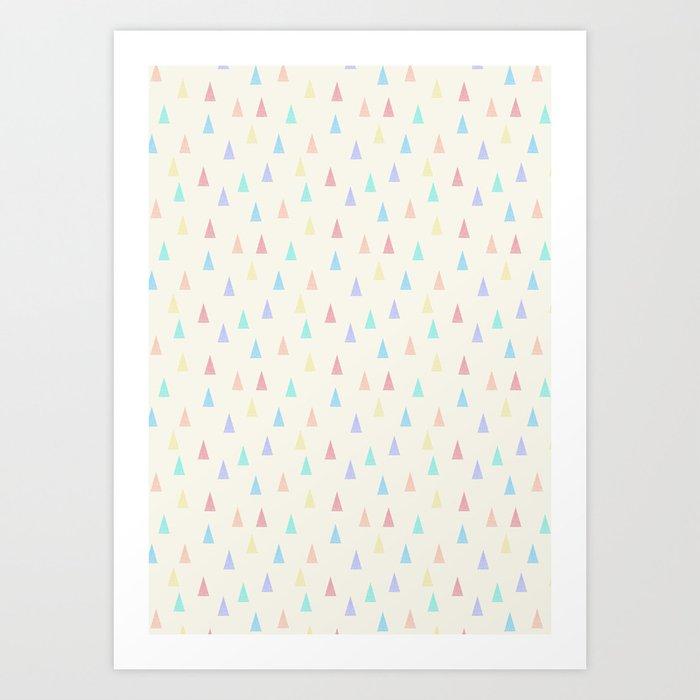tri▴ngles Art Print