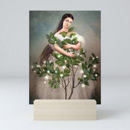 Embrace the Light Mini Art Print