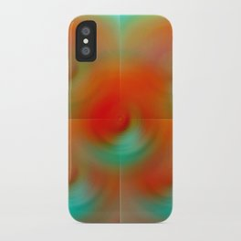 carrot and eggplant iPhone Case
