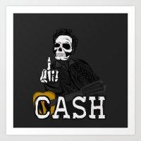 F***k  YOU CASH!! Art Print