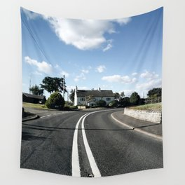 sweepy road Wall Tapestry