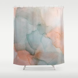 Fluidity I Shower Curtain
