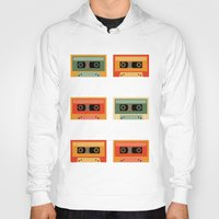 cassette Hoodies featuring cassette by vitamin