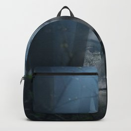 Portrait in the forest Backpack