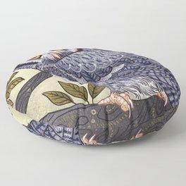 White Faced Owl Floor Pillow