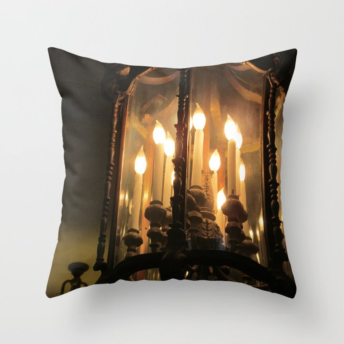 Illuminated Dreams Throw Pillow