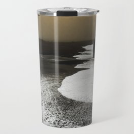 Black sand, Iceland Travel Mug