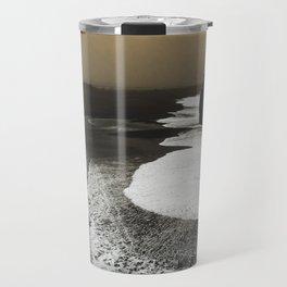 Black sand, Iceland Travel Mug