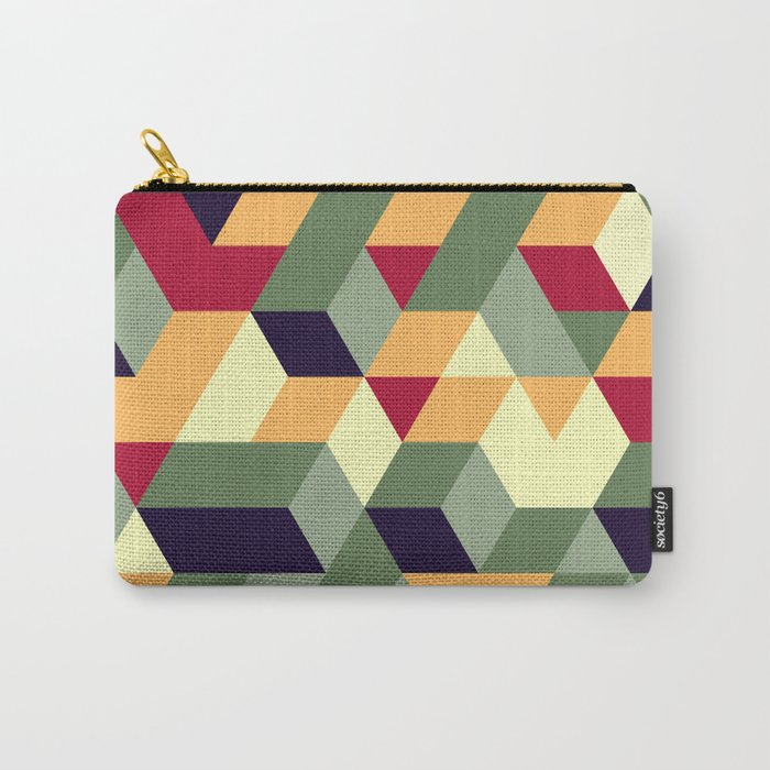 Cube way Carry-All Pouch