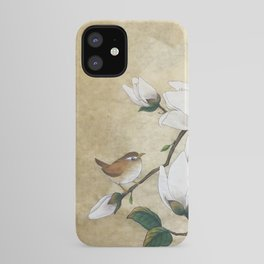 Minhwa: A Wren on the Magnolia iPhone Case