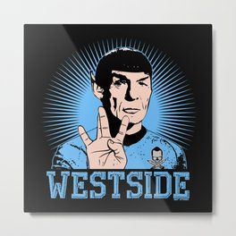The East is Highly Illogical Metal Print