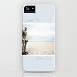 Crosby Beach Man  iPhone Case