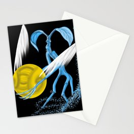 Expecto Patronum Bowtruckle Stationery Cards