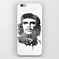 che iPhone & iPod Skins featuring CHE by Rebecca Bear