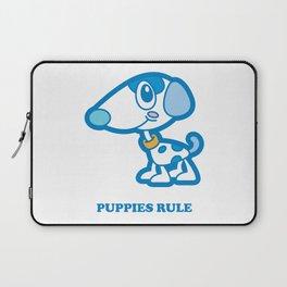 Puppies Rule Laptop Sleeve