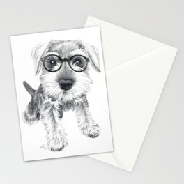 Nerdy Schnozz Stationery Cards