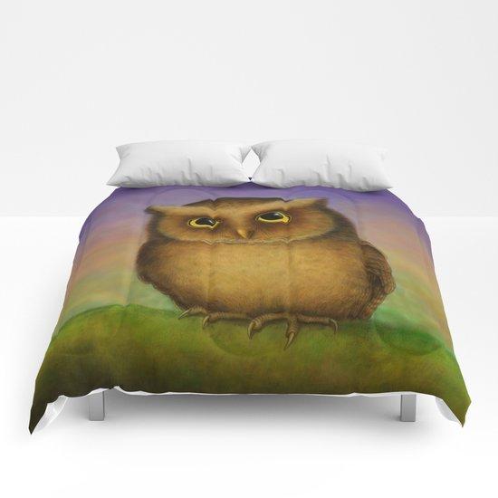 Mountain Scops Owl Comforters