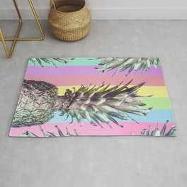 Pineapple Top Rug
