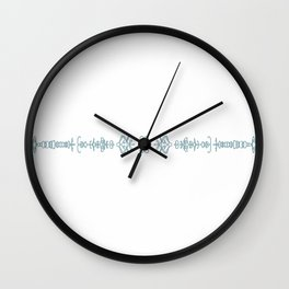 One moment can change a life. Wall Clock