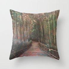 forest2 Throw Pillow