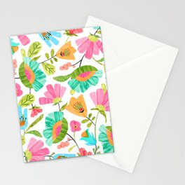 Cut Flowers Stationery Cards