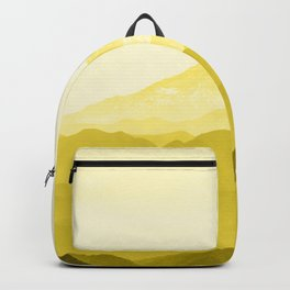 Illuminating Yellow 2021 Color Of The Year Pantone Mountains Adventure Backpack