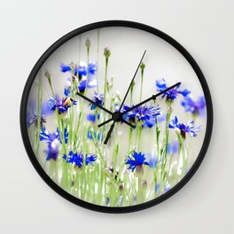 So Many Flowers. So Little Time. Wall Clock