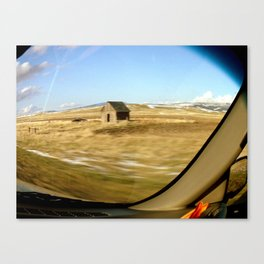 Snap Shot Out The Car Window Canvas Print