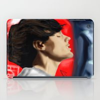 louis tomlinson iPad Cases featuring Louis Tomlinson by Manny D