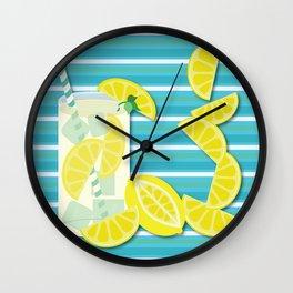 Refreshing Wall Clock