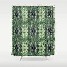 Bronx Botanical Garden Green Ferns Shower Curtain