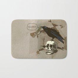 Quoth the Raven, Nevermind. Bath Mat