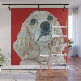 Lola the Cocker Spaniel Wall Mural